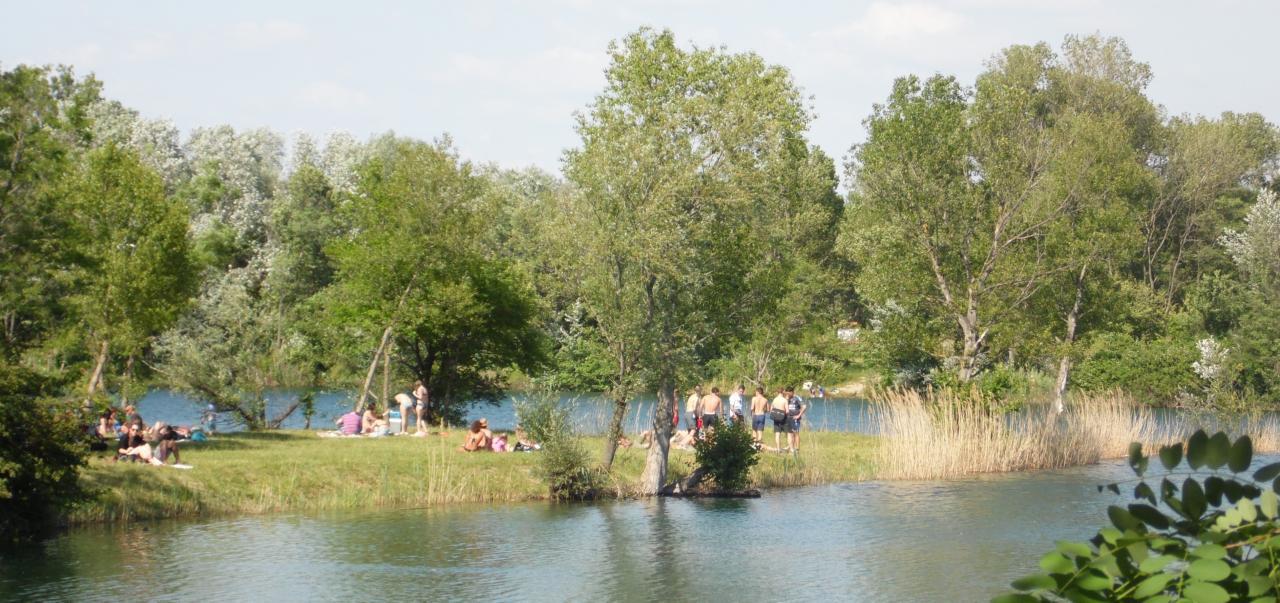 notre lac...