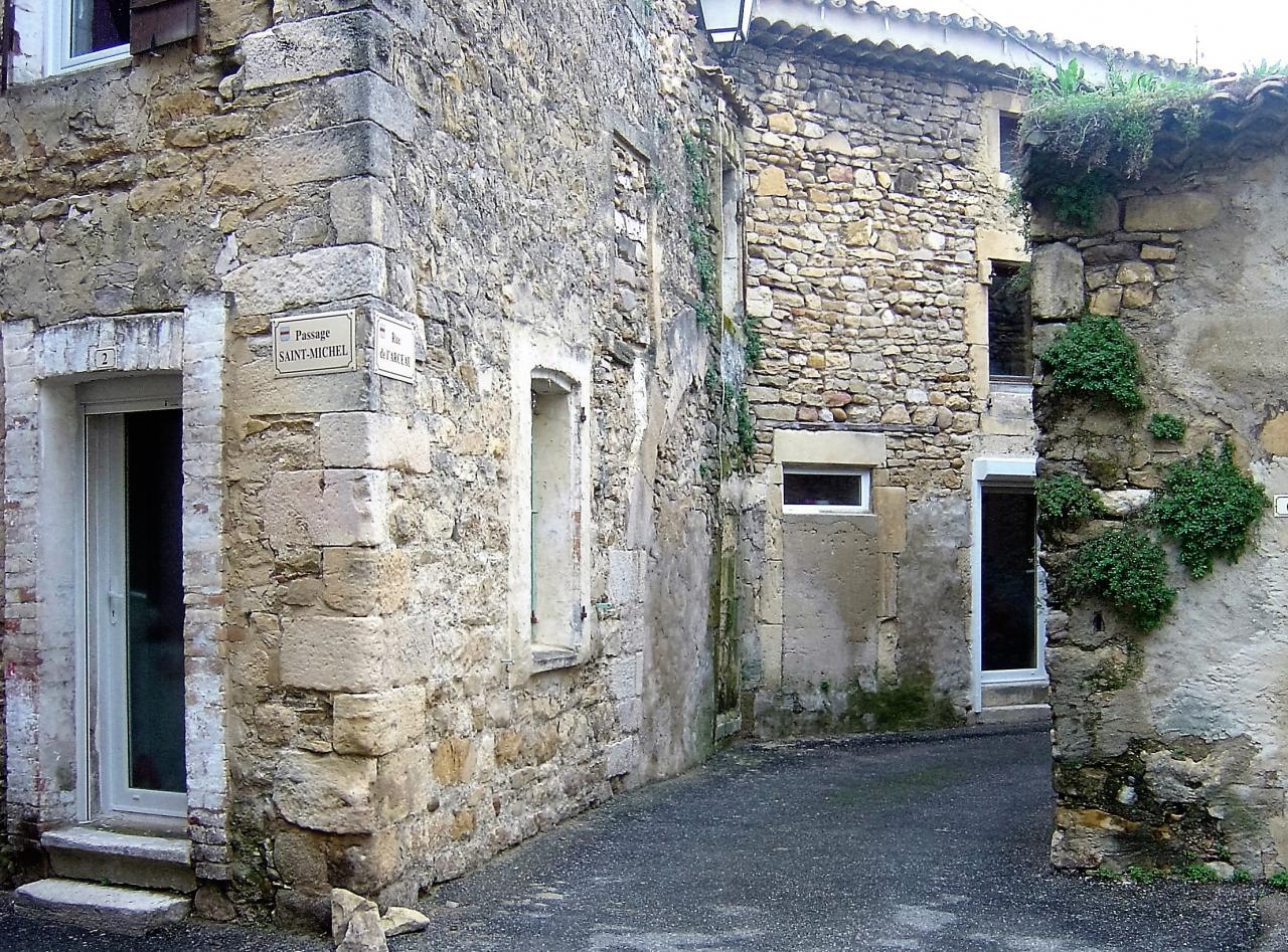 croisement passage St Michel et rue de l'arceau