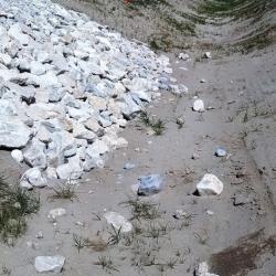 désolidarisation  de pierres