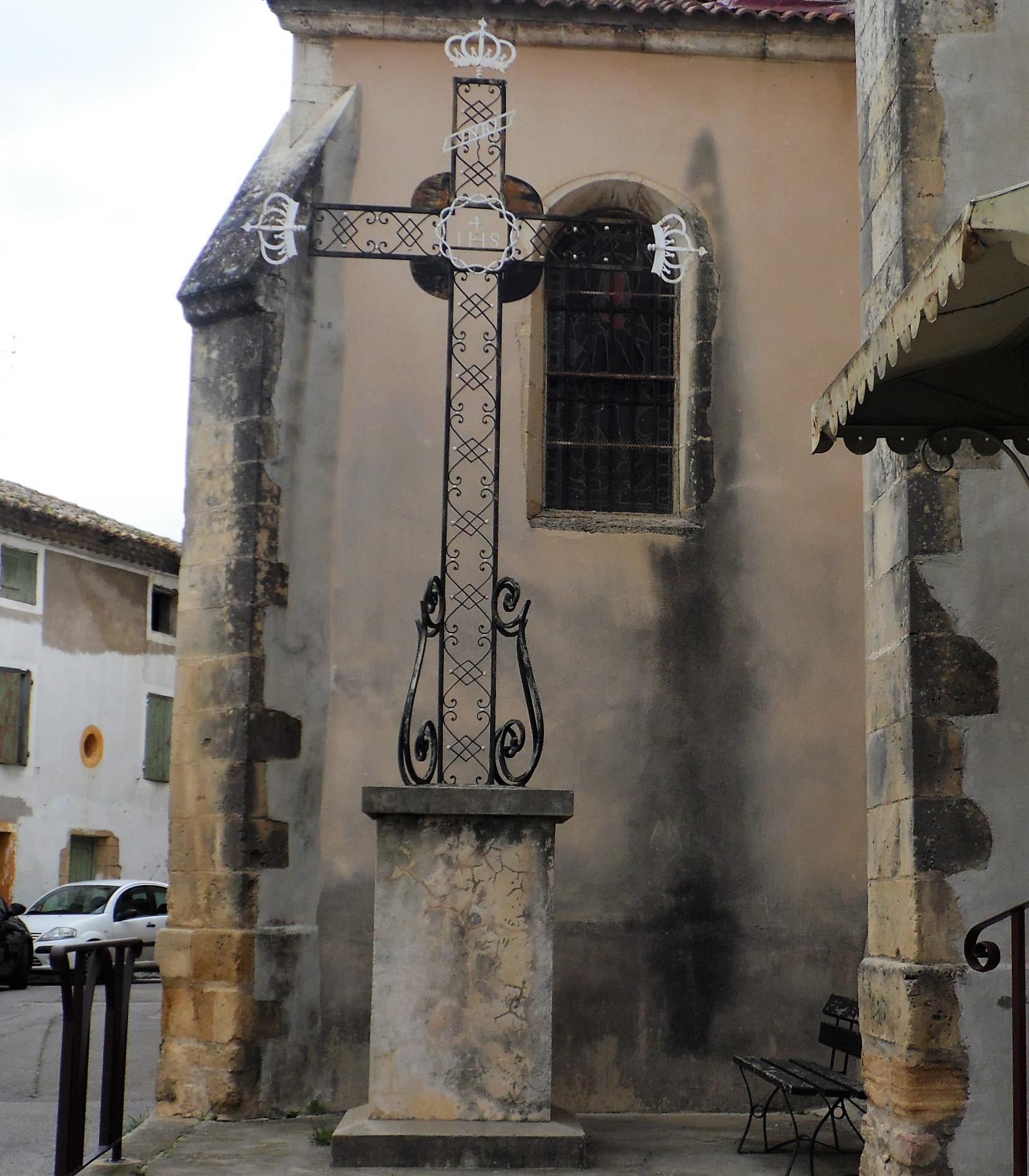 croix de mission place de l'église