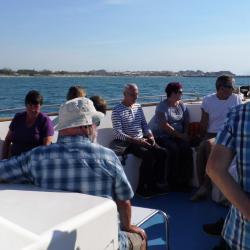 les marins étaient sur le pont