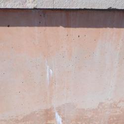 microfissure sur toute la hauteur de la digue
